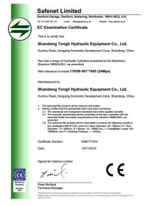 Hydraulic Cylinder for Hyundai Excavator R215-9 pictures & photos