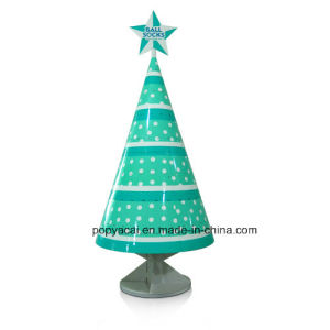 Cardboard Paper Display Rack Corrugated Paper Display Stand for Christmas Promotion pictures & photos