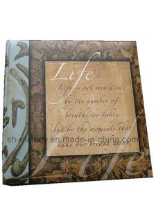 Unique Paper Cover Glue Bound Photo Album pictures & photos