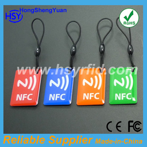 ISO 14443A Mf1 Ntag203 RFID Nfc Tag /Sticker