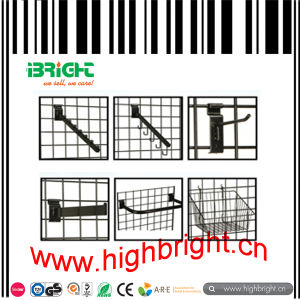 Shop Fitting Supermarket Wire Grid Display Shelf for Snack pictures & photos