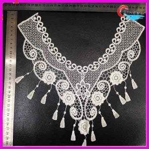 Wedding Dress Collar Lace with Fringe pictures & photos