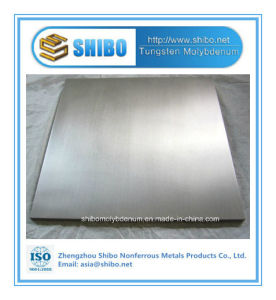 Pfofessional Manufacturer Pure Tungsten Plate with Best Quality pictures & photos