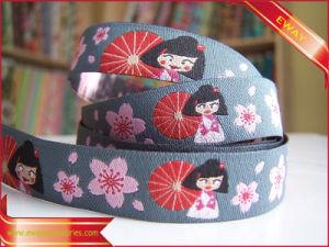 Garment Stipe Jacquard Tape Nylon Ribbon Woven Tape pictures & photos