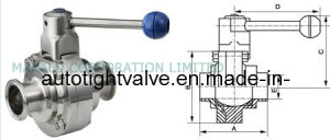 Sanitary Butterfly -Type Ball Valve