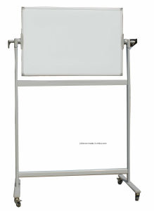 H Shape Stand Whiteboard with Wheels pictures & photos