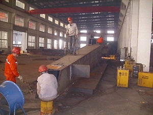 Steel Structure Fabrication Crane Jib pictures & photos