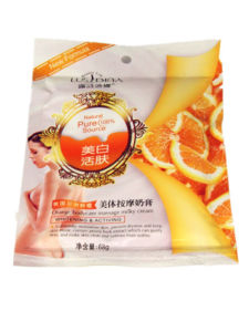 68g Orange Bodycare Massage Milky Cream (whitening and activing) pictures & photos