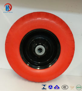 PU Flatfree Wheel pictures & photos