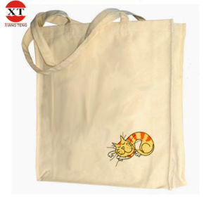 Reusable Cotton Canvas Shopping Bag Leisure Bag Shoulder Bag (FLY-FB200014) pictures & photos