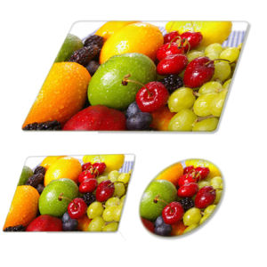 Tempered Glass Fruit Glass Cutting Board