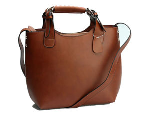 2016 Designer Women PU Leather Tote Handbag From China Cheap Wholesale Price (LOD-15510) pictures & photos