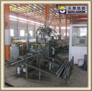 CNC High Speed Punching, Marking & Shearing Machine Line for Angles (TBL0707)