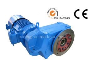 Parallel Shaft Helical Gearbox with Output Flange pictures & photos