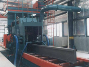 H Beam Shot Blast Cleaning Machine pictures & photos
