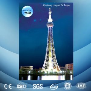 TV Tower with Angle Steel and Tubular Steel pictures & photos