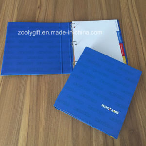Logo Printing 3 Ring Binder with Index Tabs Dividers File pictures & photos