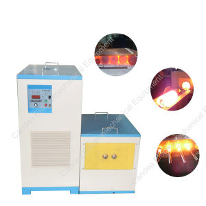 50kg Copper Medium Frequency Induction Melting Machine for Tube Casting