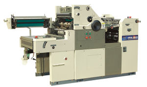 Numbering Print Single Color Offset Press Yc47np