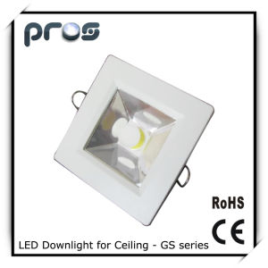 Square 15W COB LED Down Light for Ceiling pictures & photos