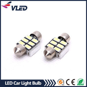 Automobiles & Motorcycle 12V LED Light Dome Bulb 31mm LED Festoon 6 SMD 5630 Reading Auto Lighting System pictures & photos