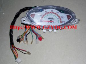 Yog Spare Parts Speed Meter Motorcycle Speedometer Assy Cub Wave Biz pictures & photos