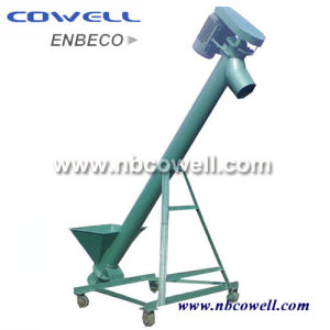 Inclined Screw Conveyor with Vibrating Hopper pictures & photos