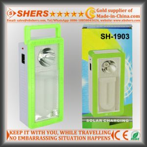 Rechargeable 22 SMD LED Emergency Light with 1W Flashlight (SH-1903) pictures & photos