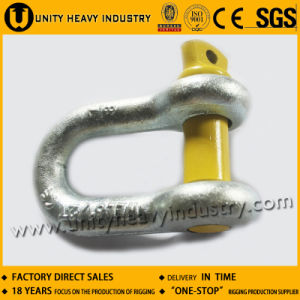 G- 210 Forged U. S Type Screw Pin Chain Shackle pictures & photos