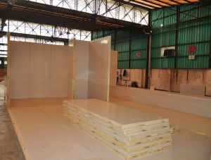Polyurethane Panels for Coldroon. (OEM)