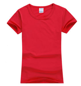 180g Lycra Women′s T-Shirts in Short Sleeve pictures & photos