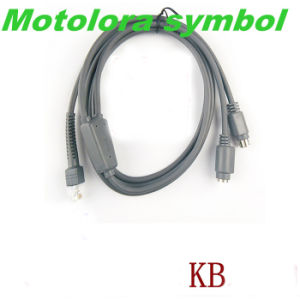 Straight Barcode Scanner PS2 Cable for Symbol Ls1203 pictures & photos