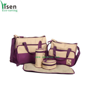 Baby Changing Bag Set Five Pieces (YSDP00-005) pictures & photos