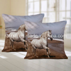 Horse Pattern Sofa Cushions for Home / Car with Lumbar Pillow pictures & photos