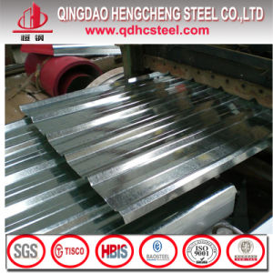 Hot Dipped JIS G3312 Galvanized Zinc Corrugated Steel Sheet pictures & photos