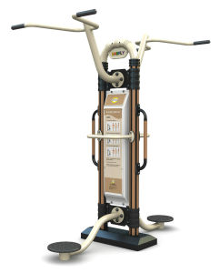 Exercise Outdoor Fitness Machine Amusement Park Waist Gym Equipment pictures & photos