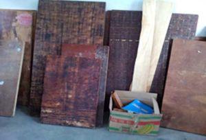 Phenolic Glue Bamboo Core Cement Block Making Board