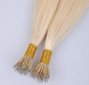 Brazilian 100% Remy Human Hair Extensions Nano Ring Hair pictures & photos