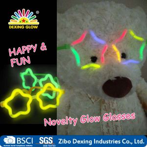 Multi Color Glow Sticks Star Shaped Glasses Light Party Glow in The Dark pictures & photos