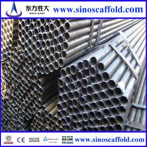 S1139 & En39 48.3mm ERW Black Carbon Steel Scaffolding Pipes pictures & photos