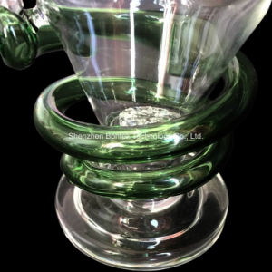 Glass Smoking Water Pipe Recycler pictures & photos