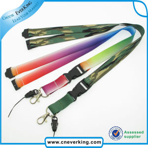 Polyester Material Custom ID Badge Holder Lanyard pictures & photos