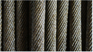 Ungalvanized Steel Wire Rope of 18X7+FC for Unloading pictures & photos