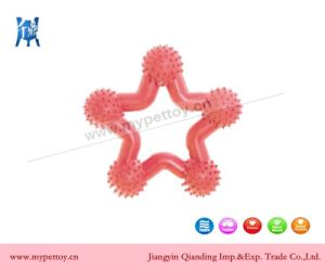 Natural Rubber Star Teether Dog Toy pictures & photos