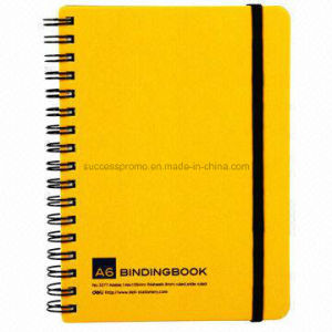 A6 Customized Office Use Wire Spiral Binding Notebook pictures & photos
