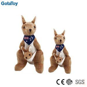 Custom Plush Stuffed Soft Kangaroo with Scarf Animal Toys pictures & photos