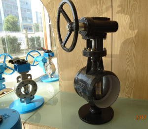 Gear Operate Pipe Line Butterfly Valve pictures & photos