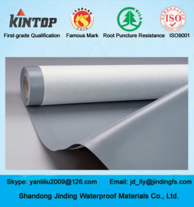 UV-Resistant PVC Waterproof Material for Exposed Roof pictures & photos