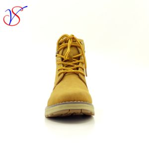 Three Color Men Women Safety Working Work Boots Shoes for Outdoor Job (SV-WK 003-TAN) pictures & photos