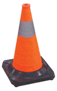 50cm Traffic Rubber Cone Safety Cone pictures & photos